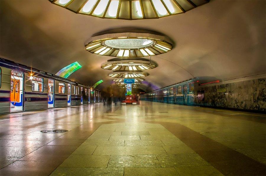 станции метро Ташкента Буюк Ипак Йули