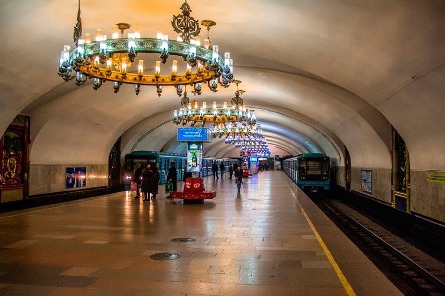 станции метро Ташкента Чиланзар