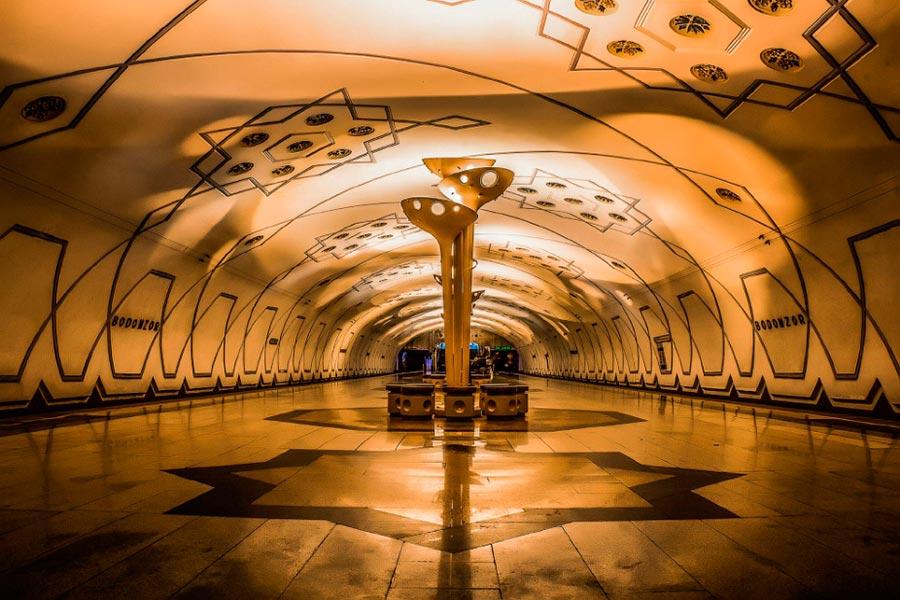Метро Ташкента Станция Бодомзор