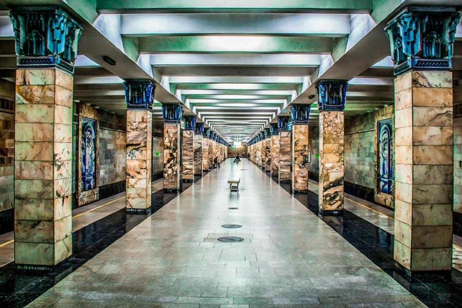 станции метро Ташкент