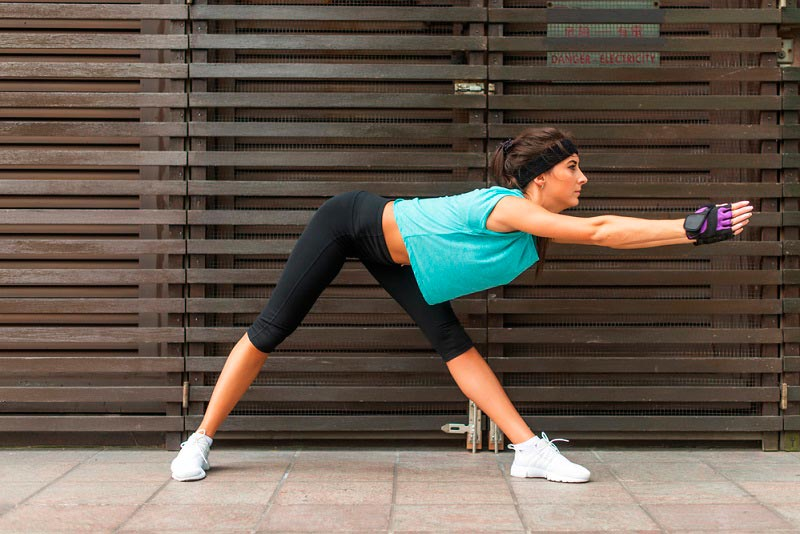 stretching after workout Растяжка после тренировки