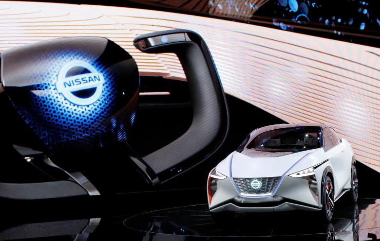 Japan Tokyo motor show Япония Токийский автосалон Nissan IMx