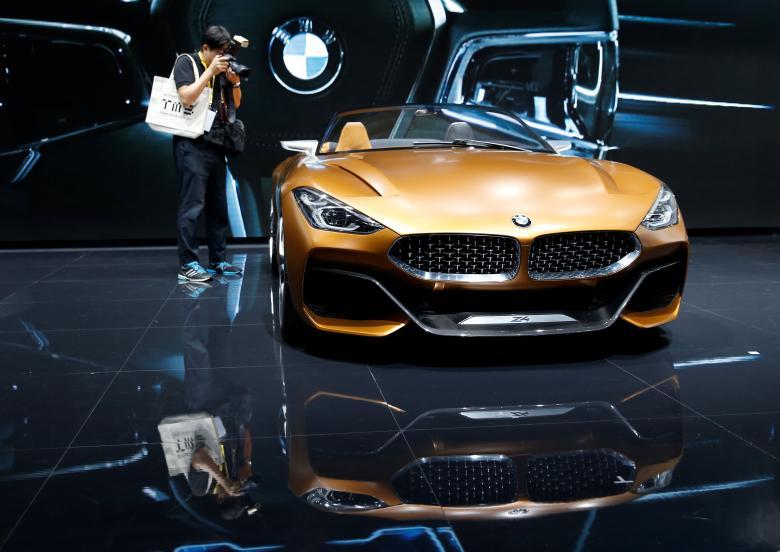Japan Tokyo motor show Япония Токийский автосалон BMW Z4