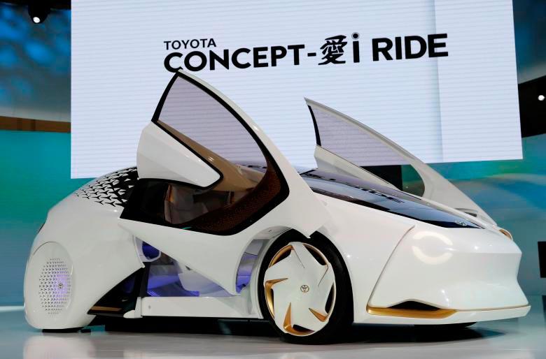 Japan Tokyo motor show Япония Токийский автосалон Toyota i Ride