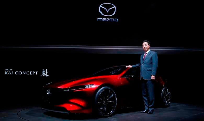 Japan Tokyo motor show Япония Токийский автосалон Mazda Kai Concept