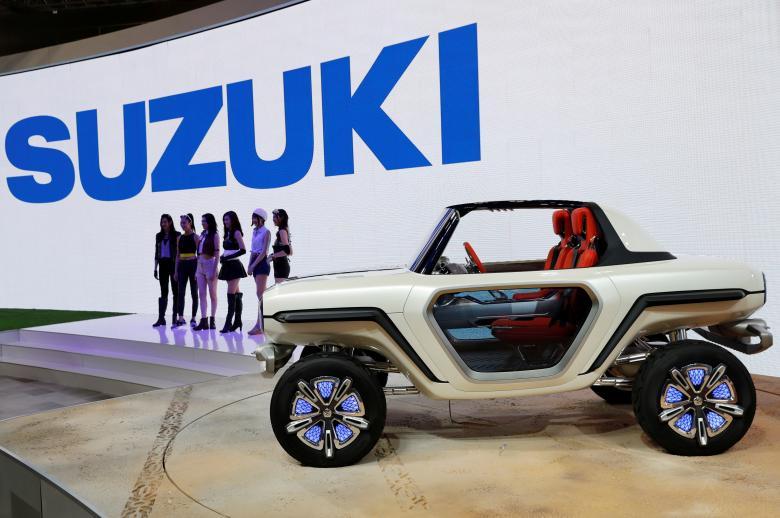 Japan Tokyo motor show Япония Токийский автосалон Suzuki EV e-Survivor