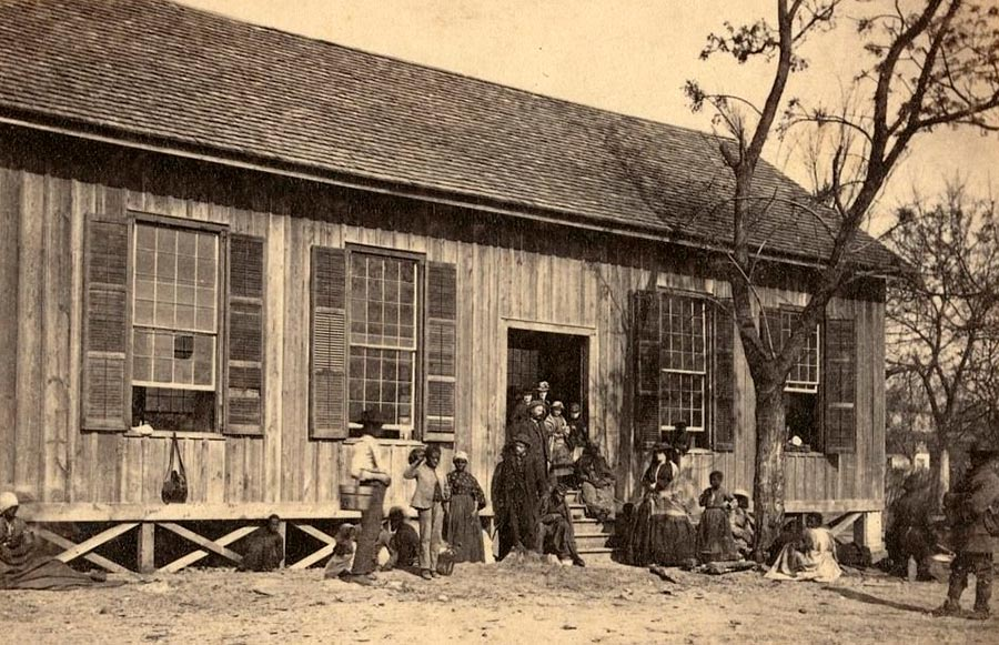 Грустная правда о жизни американских рабов Бофорт, Южная Каролина