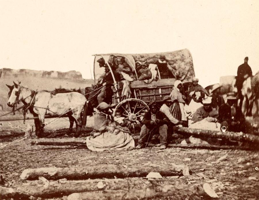 Грустная правда о жизни американских рабов Северная часть США