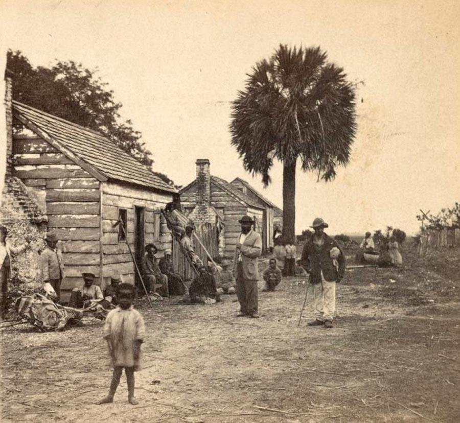 Грустная правда о жизни американских рабов Южная Каролина