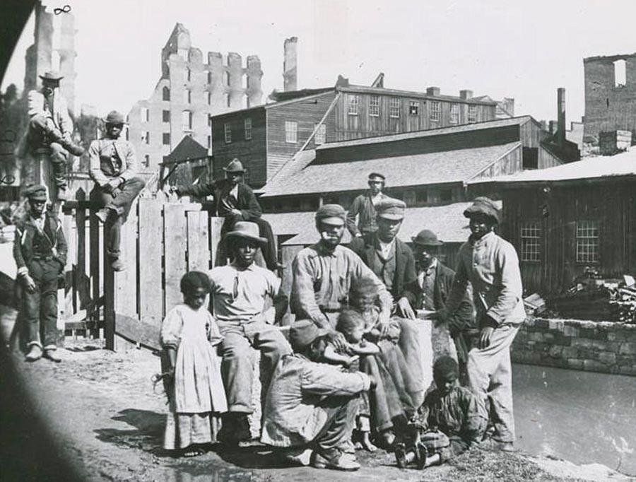 Грустная правда о жизни американских рабов Ричмонд, Вирджиния