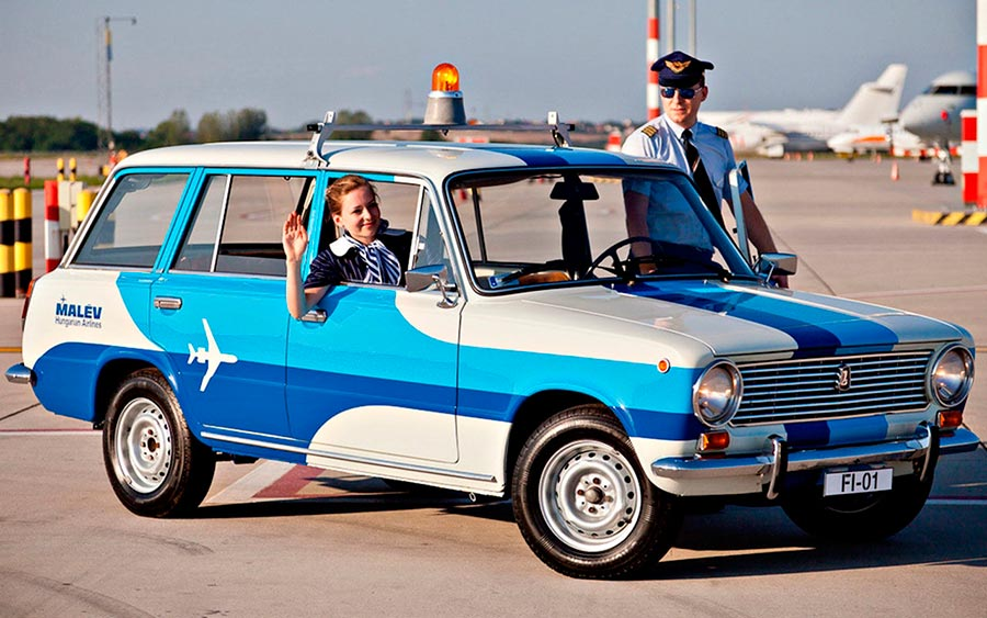 универсалы автоваза Lada 1200 Airport Escort Service