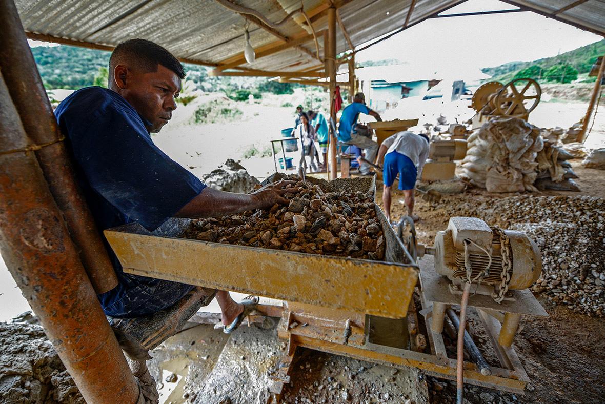 Venezuela Венесуэла золотая лихорадка