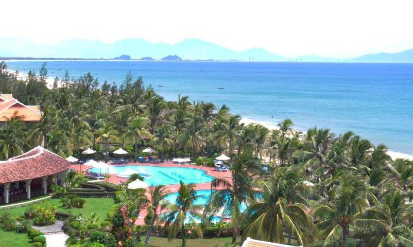Vietnam Вьетнам пляжи Кам ан Бич Хой Ан