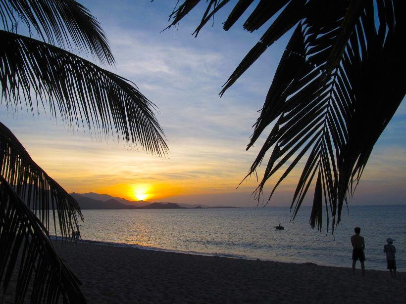 Vietnam Вьетнам пляжи Пляж Нинь Чу Нинь Чу
