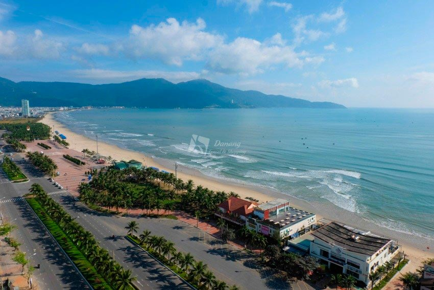 Vietnam Вьетнам пляжи Мой Хе Да Нанг