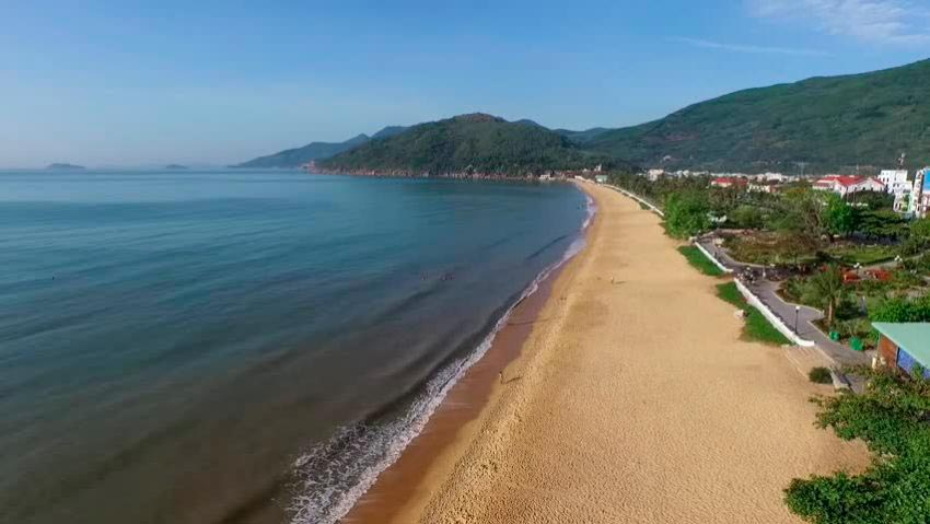 Vietnam Вьетнам пляжи Квай-Нхон провинция Бинх Динь