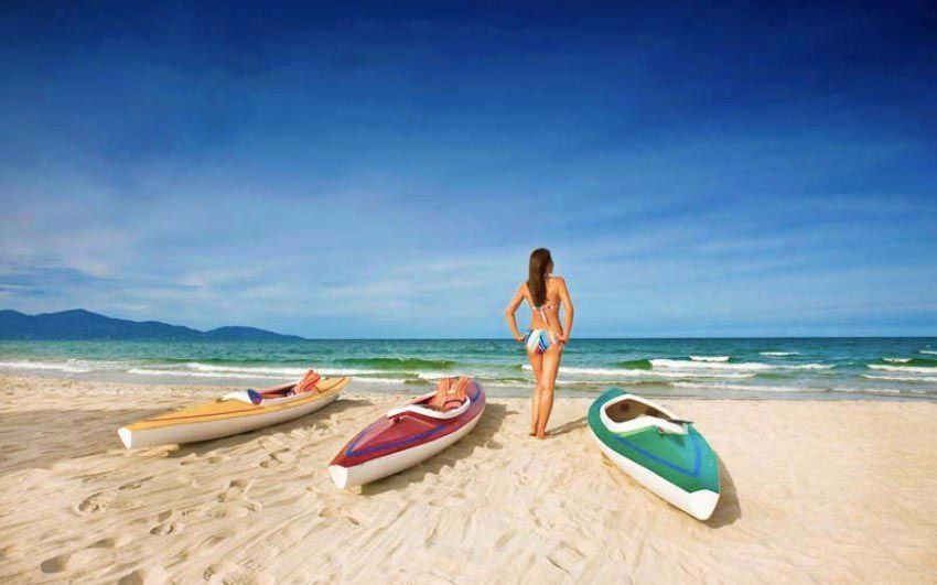 Vietnam Вьетнам пляжи Нон Нуок Бич Да Нанг