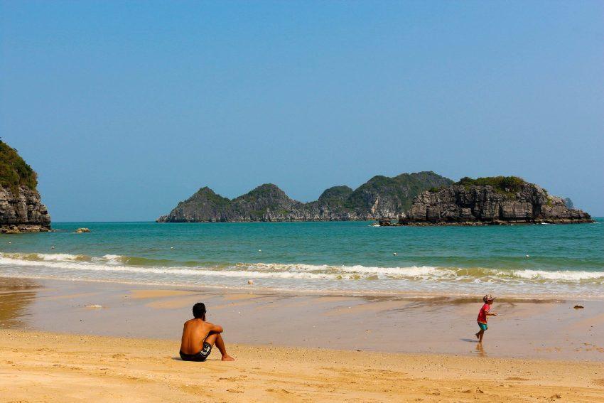 Vietnam Вьетнам пляжи Кат Ко Кат Ба