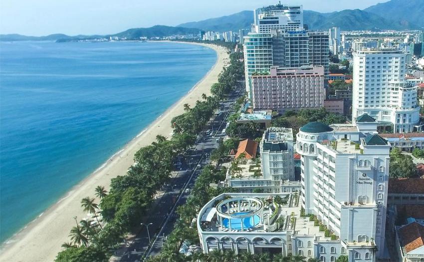 Vietnam Вьетнам пляжи Городской пляж Нячанг