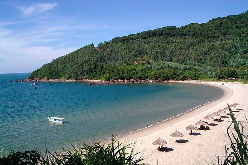 Vietnam Вьетнам пляжи Мой Хе Куанг Нгай