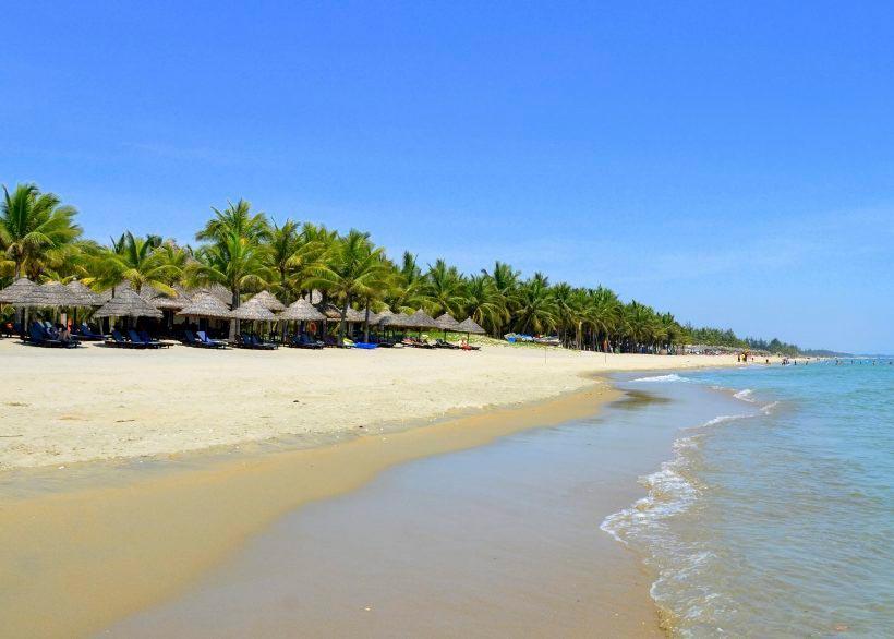 Vietnam Вьетнам пляжи Пляж Куа Дай Хой Ань