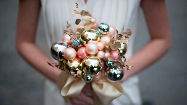 Необычные свадебные букеты