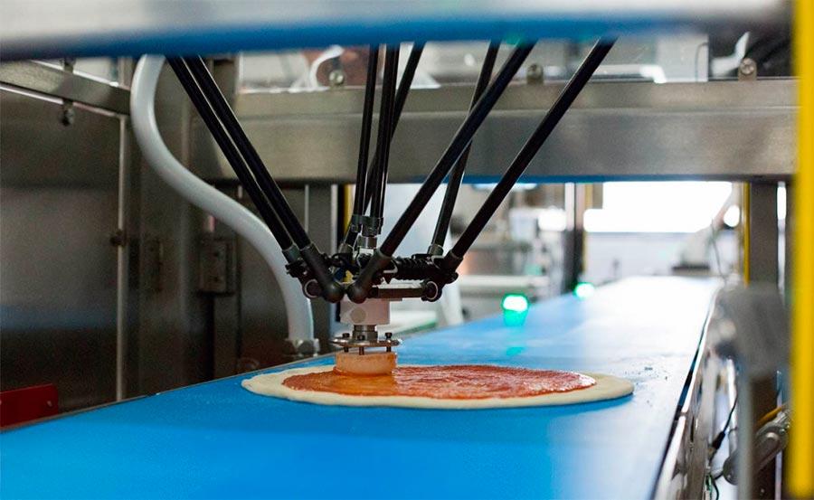 Пицца сделанная роботами Zume Pizza