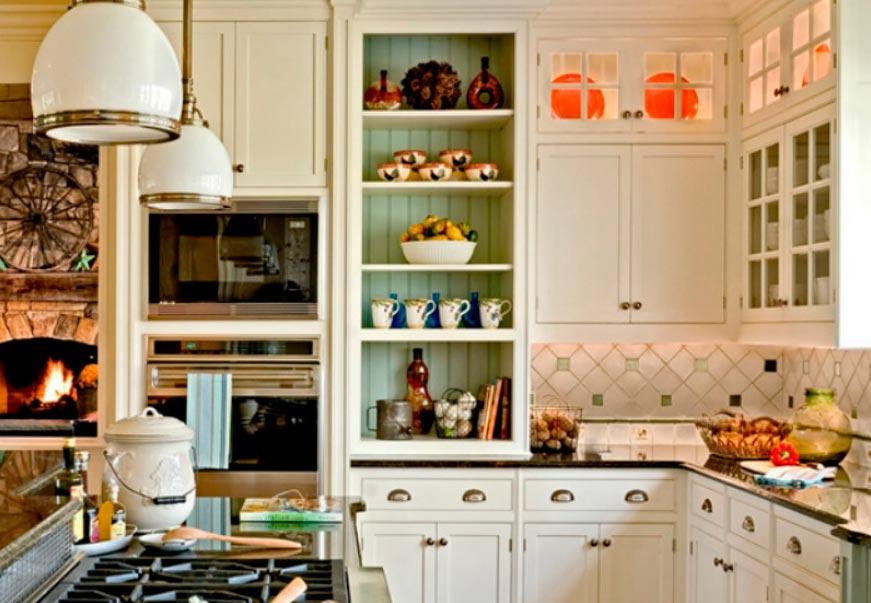 идеи дизайна кухни Прованс provence