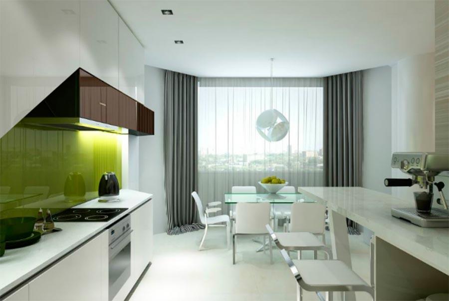 идеи дизайна кухни Современный стиль modern style
