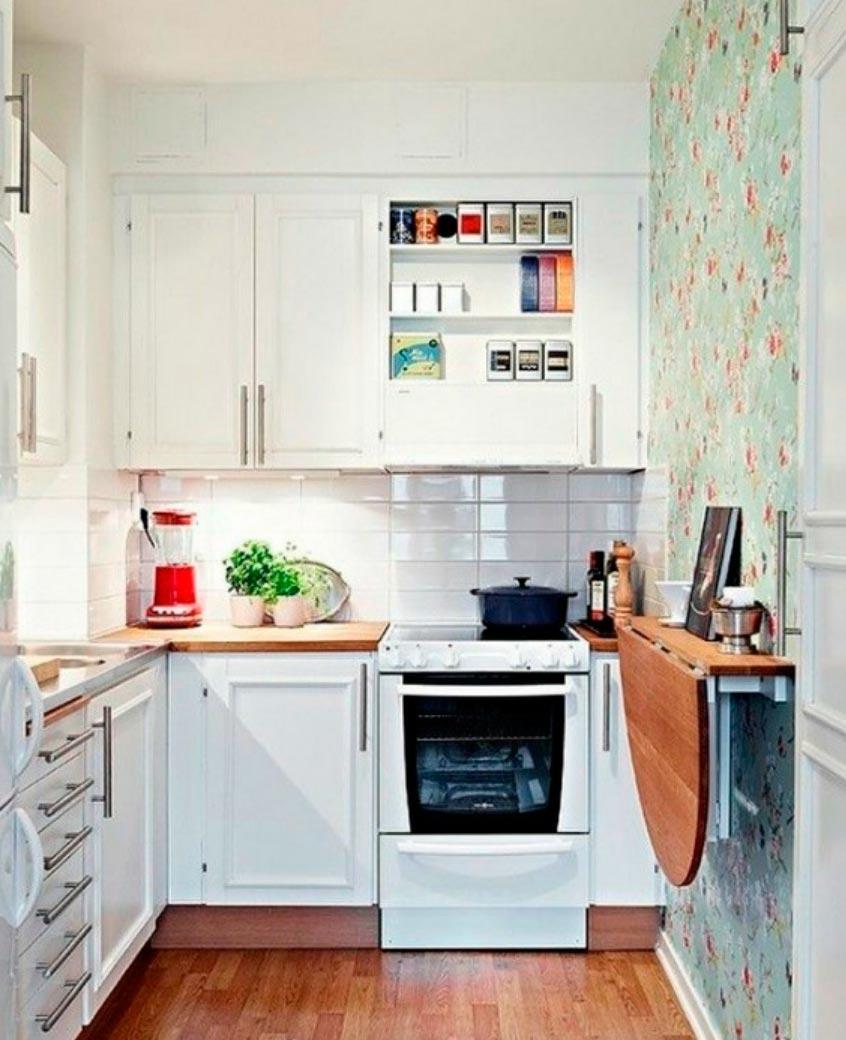 идеи дизайна кухни Крошечное пространство tiny space