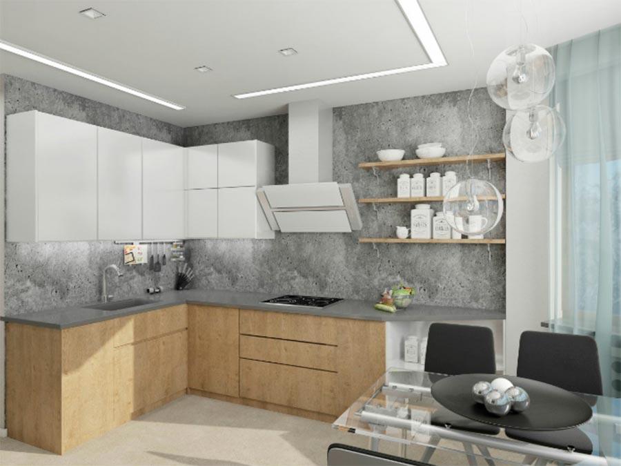 идеи дизайна кухни Современные материалы modern materials