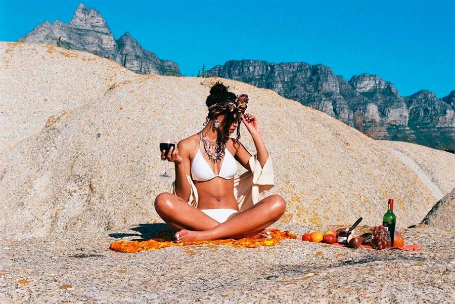 Aubrey Ndiweni Одри Ндивени классные девушки на море cool girls