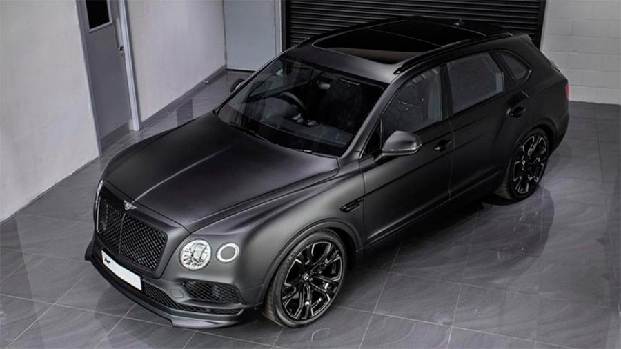 Bentley Bentayga Le Mans Edition от мастеров KAHN