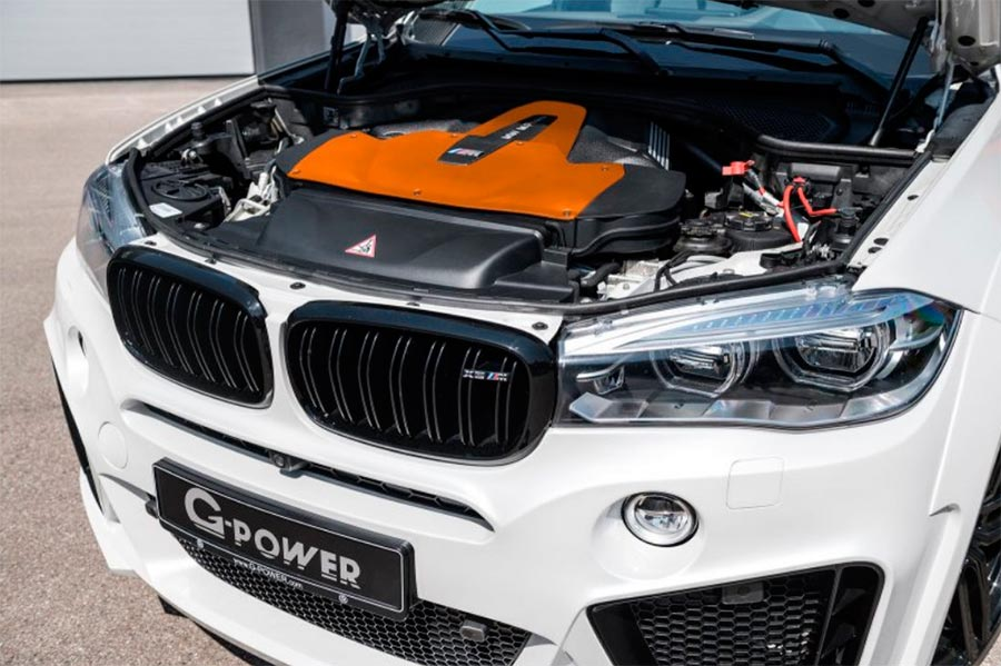 BMW X5M Typhoon тюнинг G-POWER