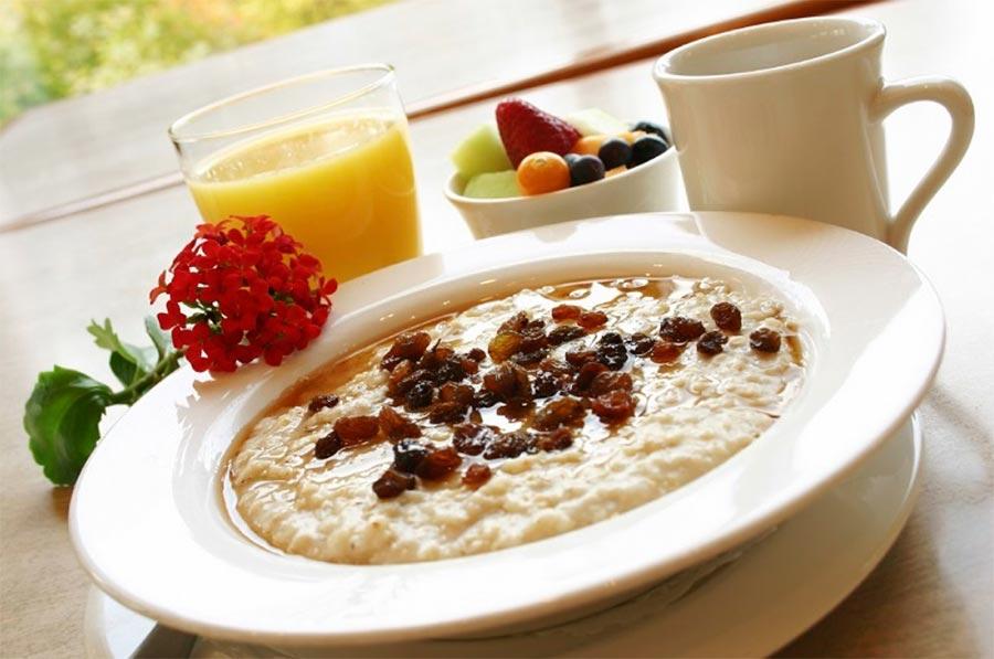 Продукты для завтрака обмен веществ Каша