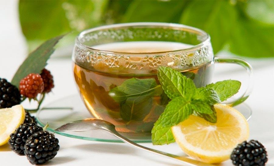 Продукты для завтрака обмен веществ Зеленый чай