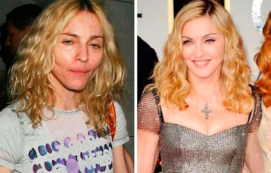 Звезды макияж celebrities makeup Мадонна Madonna