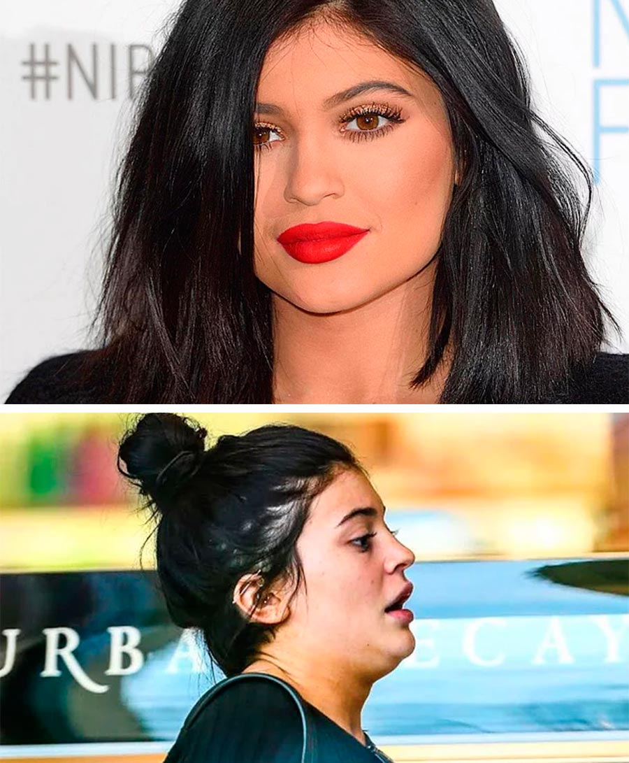 Звезды макияж celebrities makeup Кайли Дженнер Kylie Jenner