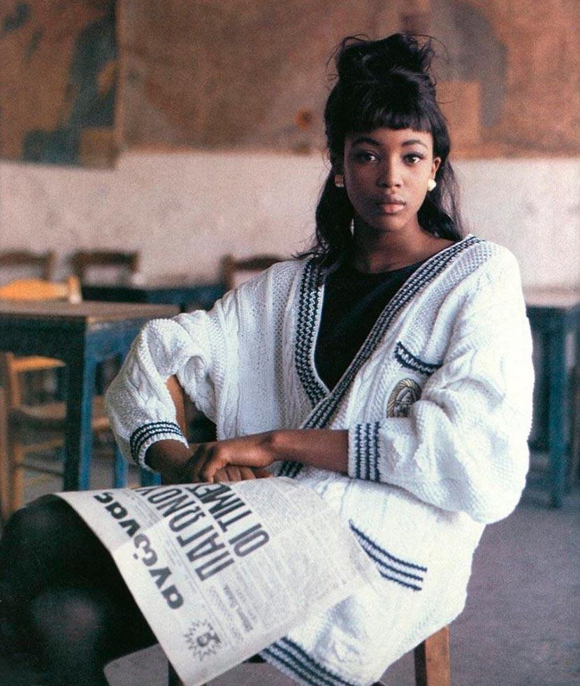 знаменитости в юном возрасте celebrities young age Наоми Кэмпбелл Naomi Campbell