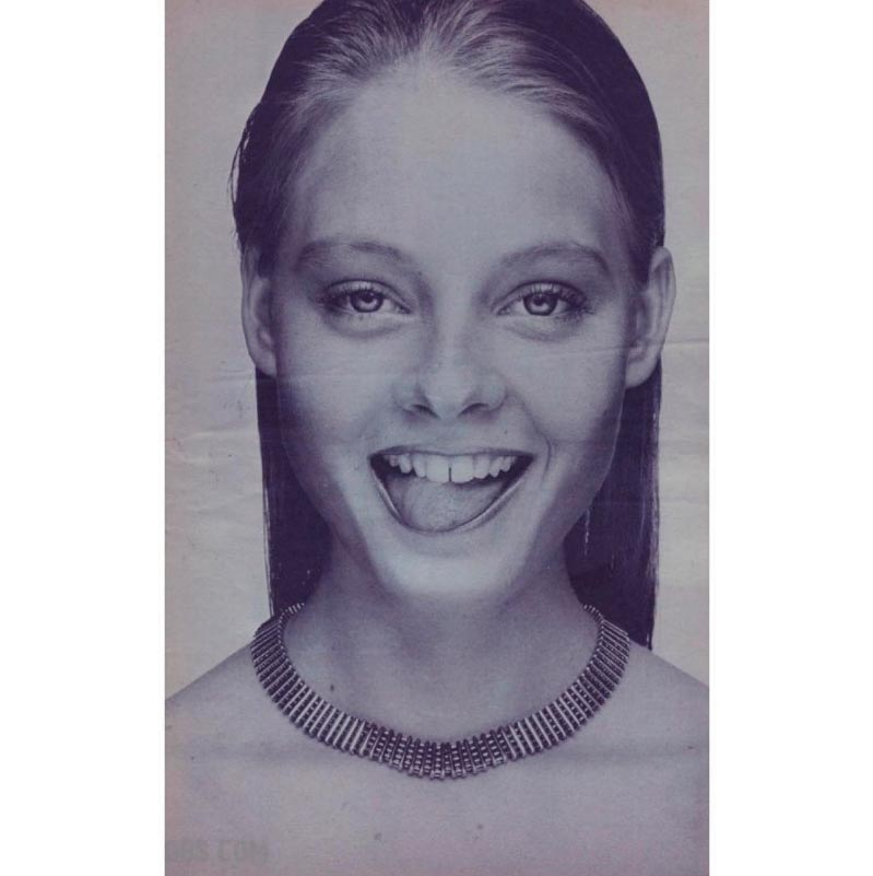 знаменитости в юном возрасте celebrities young age Джоди Фостер Alicia Christian Jodie Foster
