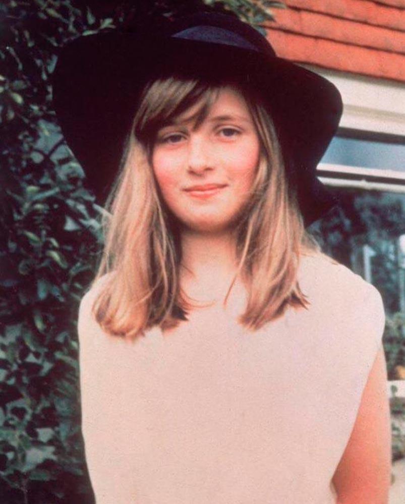 знаменитости в юном возрасте celebrities young age Принцесса Диана Princess of Wales