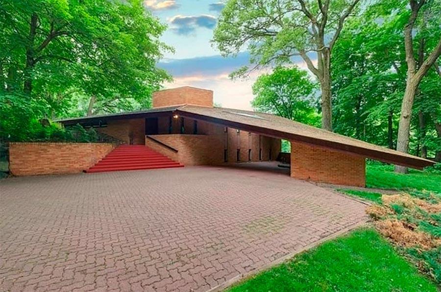 Крутой дизайн дома Фрэнк Ллойд Райт Frank Lloyd Wright