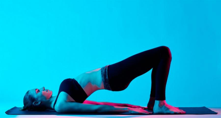 exercises pain back упражнения при болях в спине мост bridge