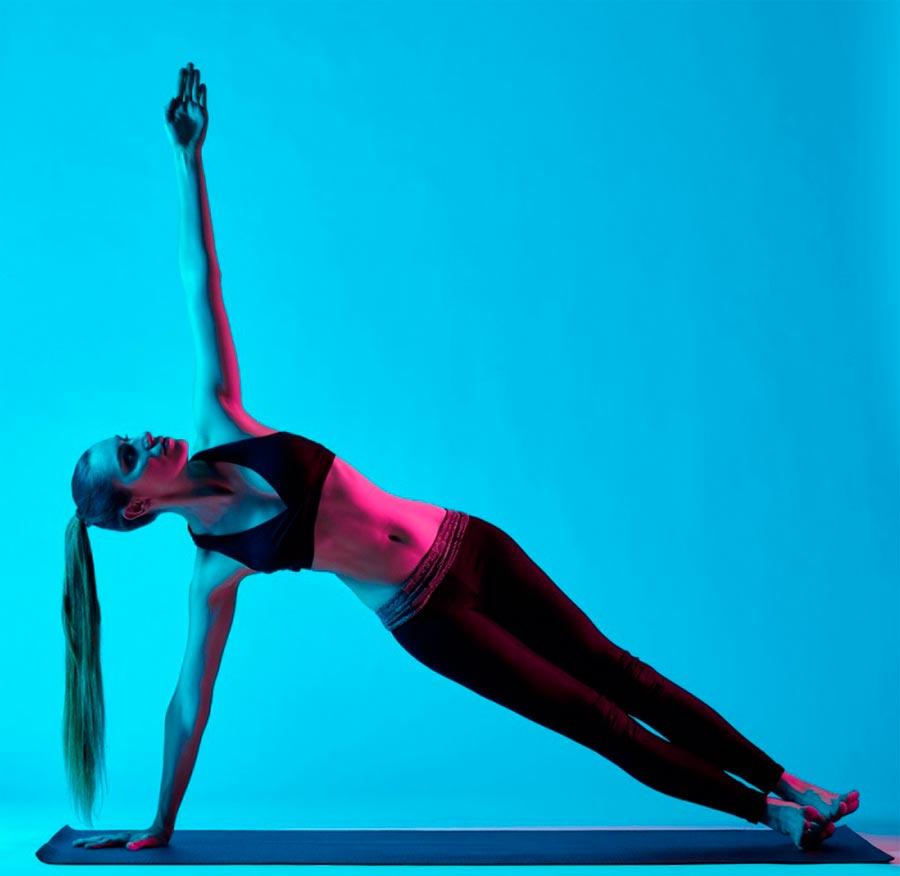 exercises pain back упражнения при болях в спине Боковая планка