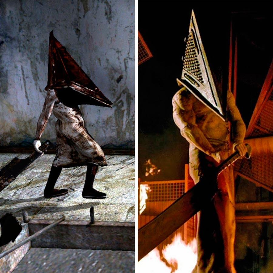 Игровые персонажи Роберто Кампанелла Roberto Campanella Пирамидоголовый Silent Hill