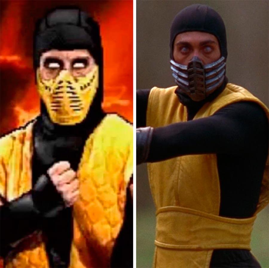 Игровые персонажи Крис Касамасса Chris Casamassa скорпион Mortal Kombat