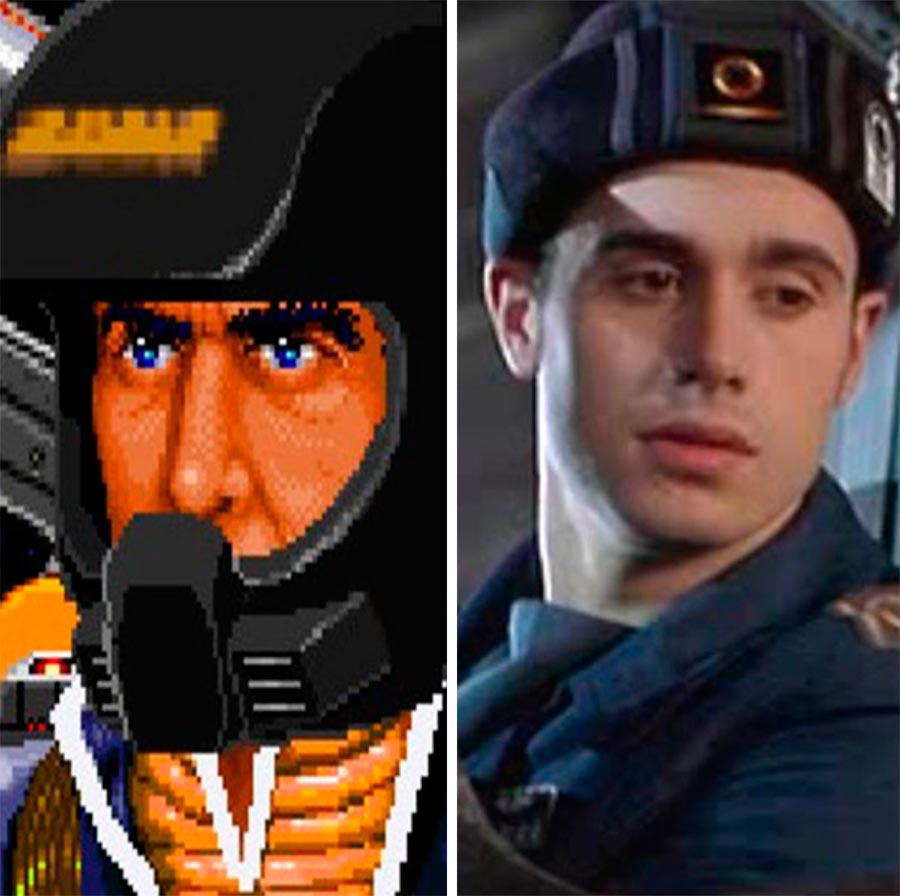 Игровые персонажи Фредди Принц Freddie Prinze Кристофер Блэр Wing Commander