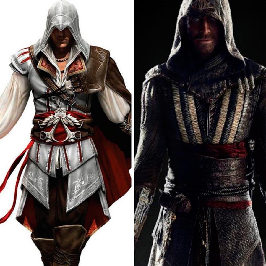 Игровые персонажи Майкл Фассбендер Michael Fassbender Assassin' Creed