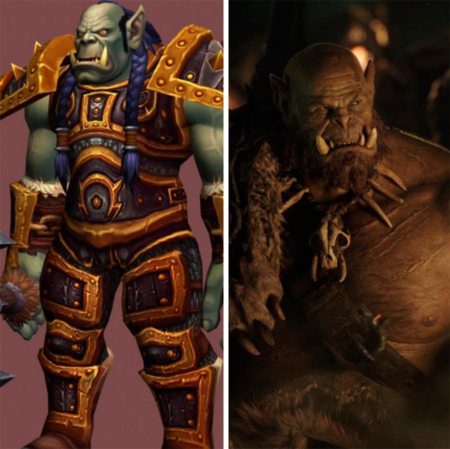 Игровые персонажи Роберт Казински Robert Kazinsky Оргрим Warcraft