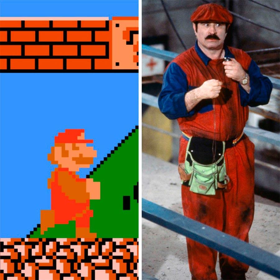 Игровые персонажи Боб Хоскинс Bob Hoskins Марио Mario